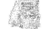 Immagini di Natale da colorare da scaricare gratis