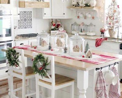 Apparecchiare la tavola di natale in stile shabby chic for Arredamento natalizio casa