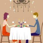 Cena intima a casa