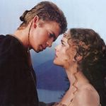 Hayden Christensen e Natalie Portman - Guerre Stellari
